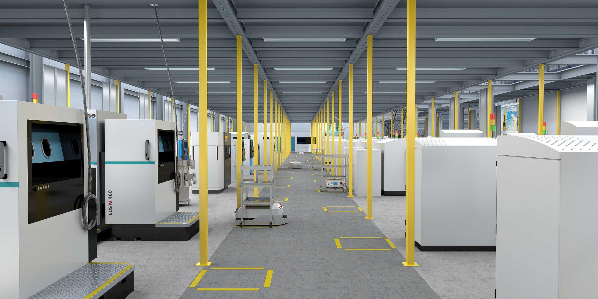 برنامه زیمنس برای گسترش ظرفیت «تولید افزایشی»