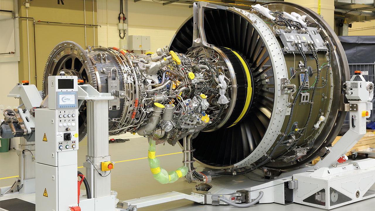 مشارکت شرکت میتسوبیشی در تعمیر موتور هوایی PW1100G
