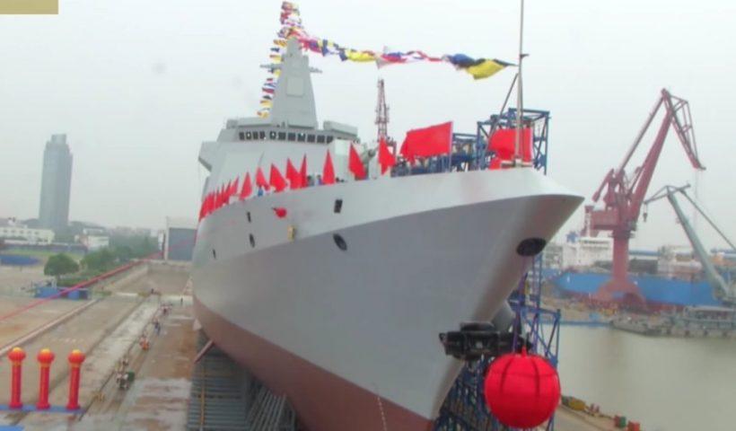 ادعای چین در جهت پیشرفت دریایی