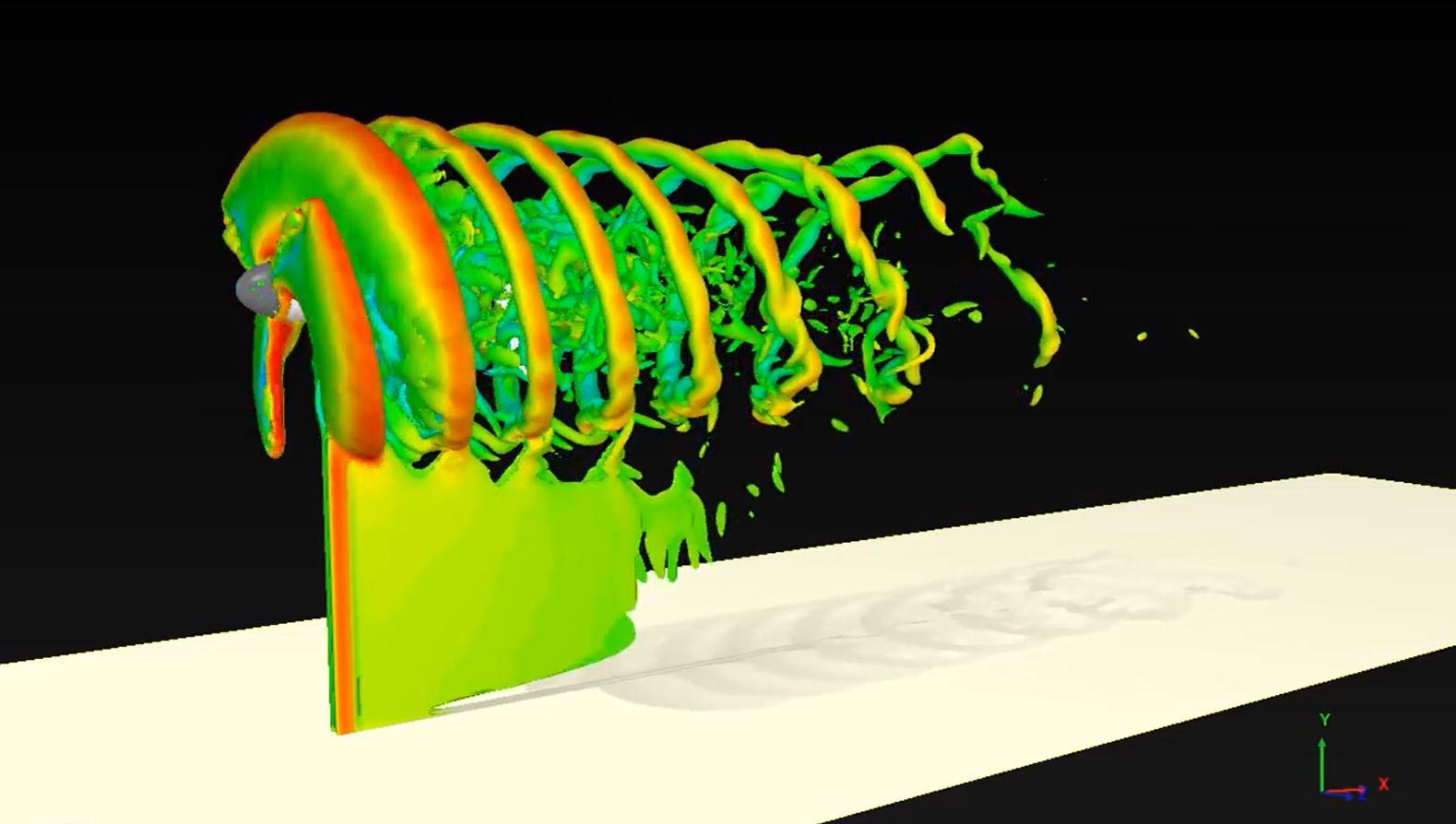 شبیهسازی عددی توربین باد در تونل باد مجازی ایکسفلو [فیلم]