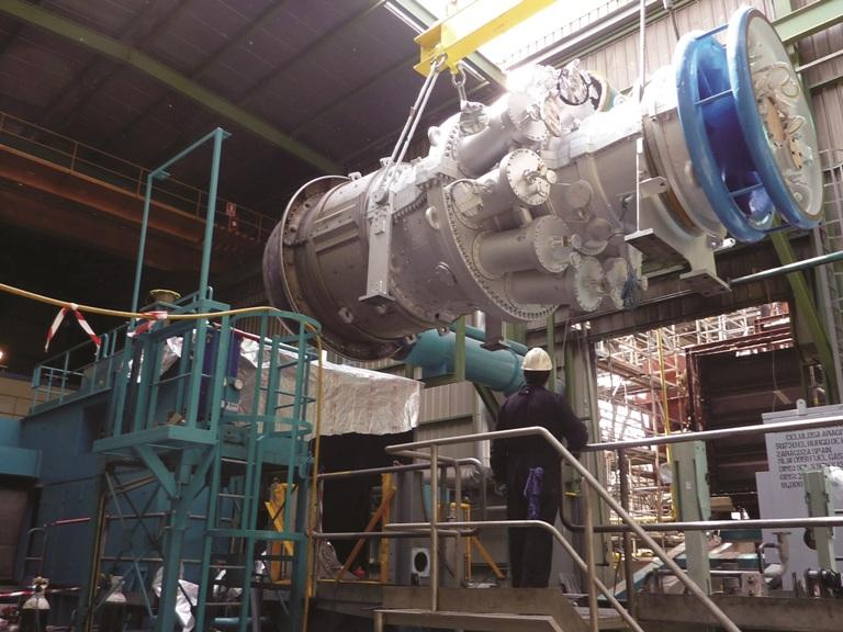 نخستین راه حل بروزرسانی توربین گازی فریم 6