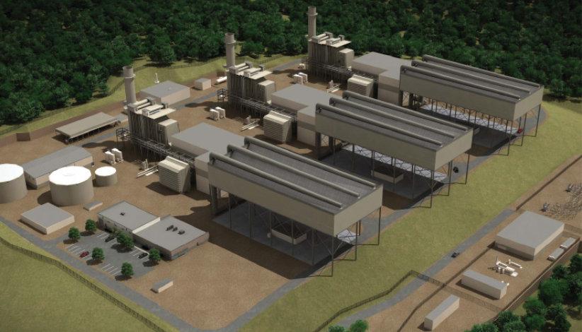 نیروگاه سوخت گاز آنلاین لاکاوانا
