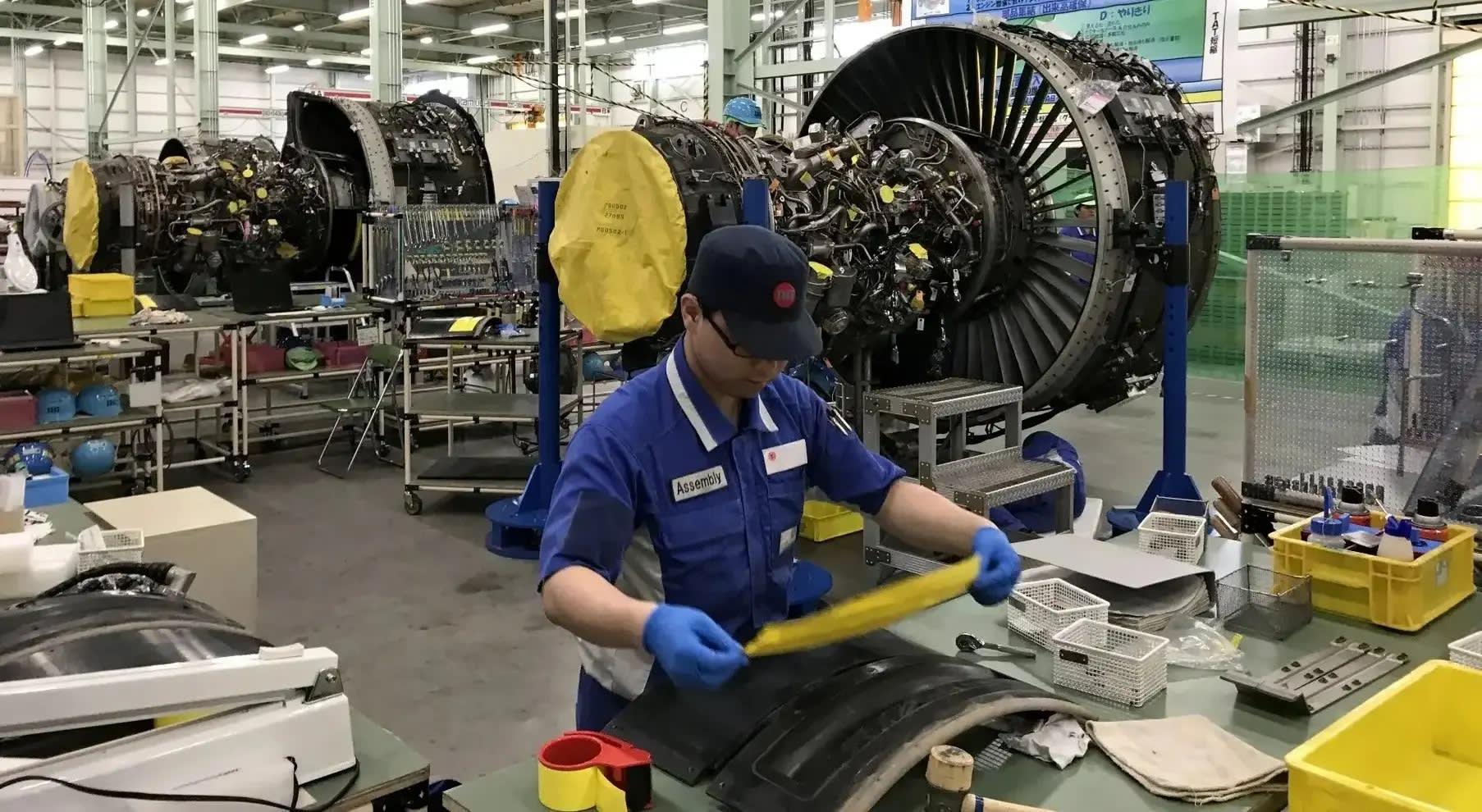 توقف ارائه خدمات توسط مرکز تعمیر و نگهداری موتورهای هوایی ژاپن