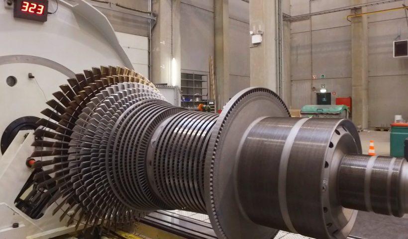 بازسازی قطعات توربین بخار