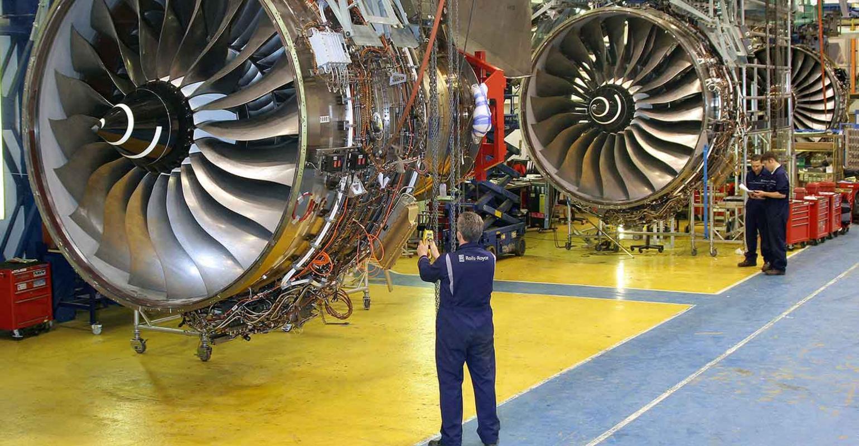 برنامه رولز رویس برای بازرسی موتورهای ترنت