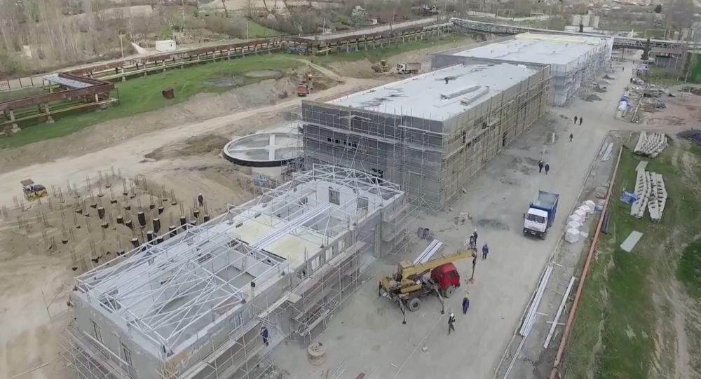 بازسازی نیروگاه