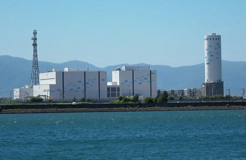 نصب ماشین فریم 9 جیئی در نیروگاه ژاپنی