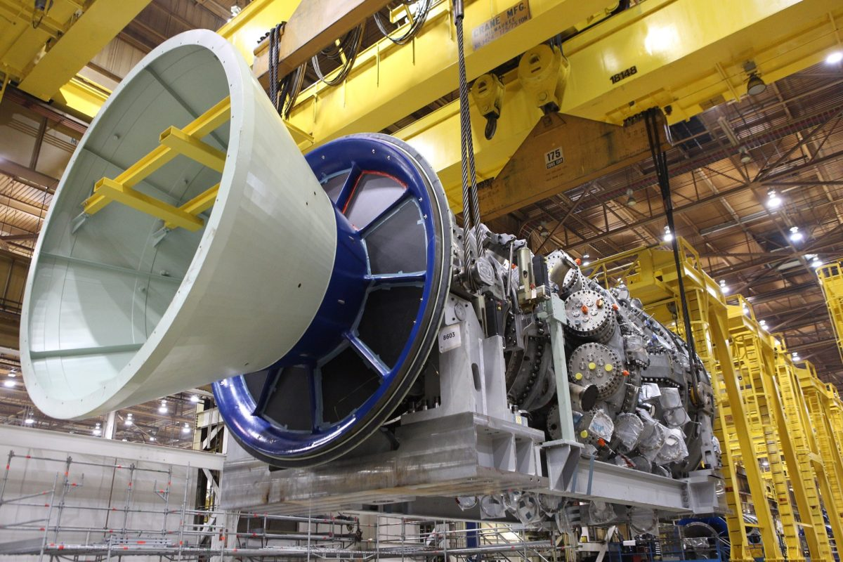تجهیزات جیئی برای نیروگاه 620 مگاواتی پنسیلوانیا