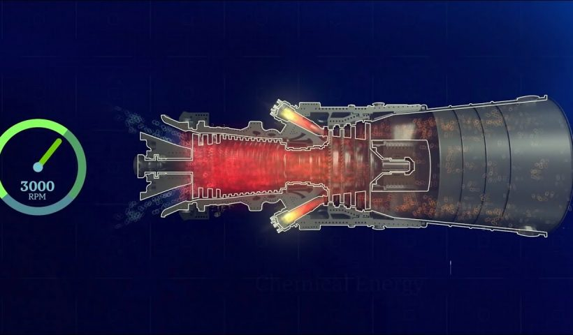 عملکرد کلی توربین گاز