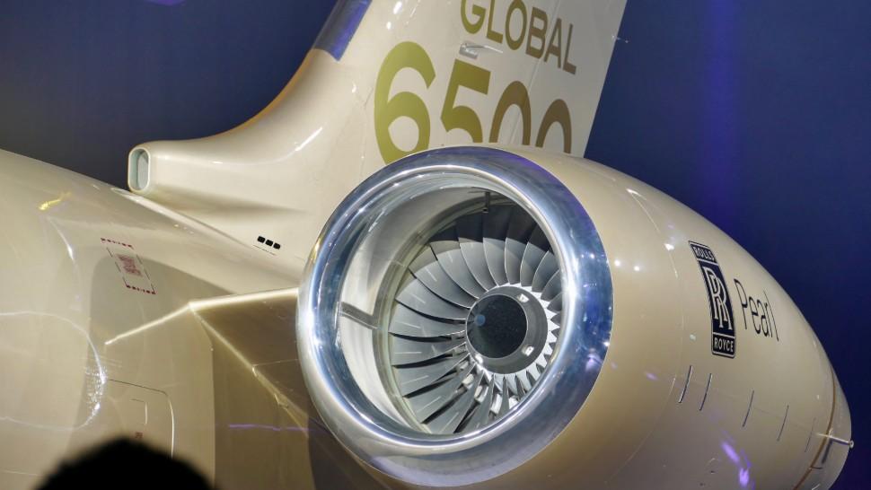 آزمایش زمینی موتور هوایی جدید رولزرویس