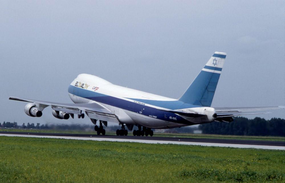 جدایش موتور بوئینگ 747 در فاجعه هوایی آمستردام [فیلم]