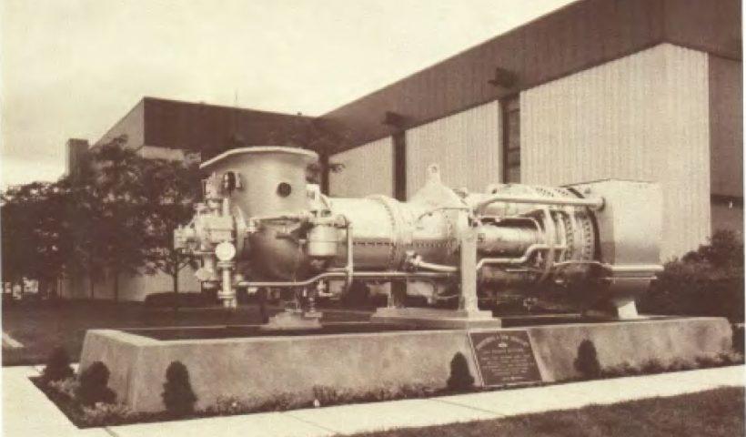 اولین توربین گاز نصب شده در آمریکا