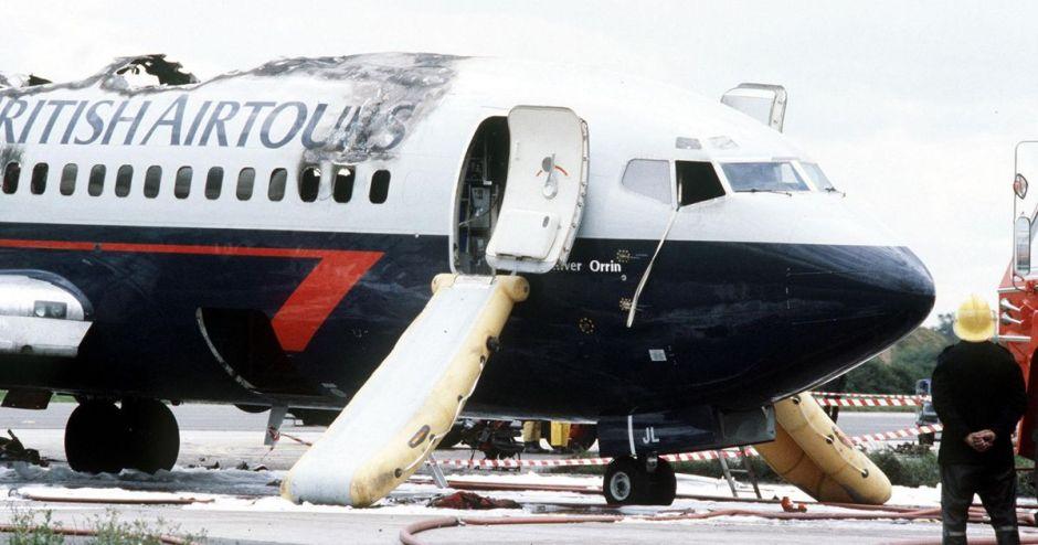 اشتباه در تعمیر محفظه احتراق و آتشسوزی بوئینگ 737 انگلیس روی باند (سوانح هوایی بخش نهم)