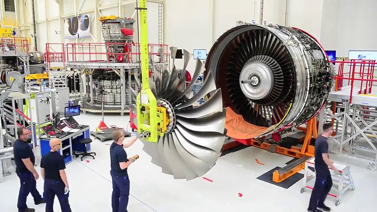 مونتاژ موتور ترنت XWB در یک نگاه [فیلم]
