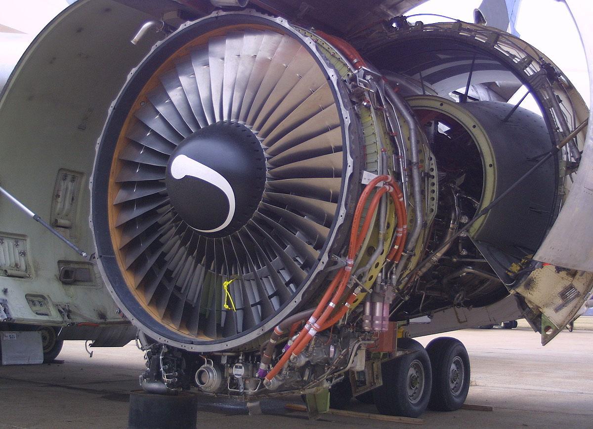 موتور پرقدرت CF6