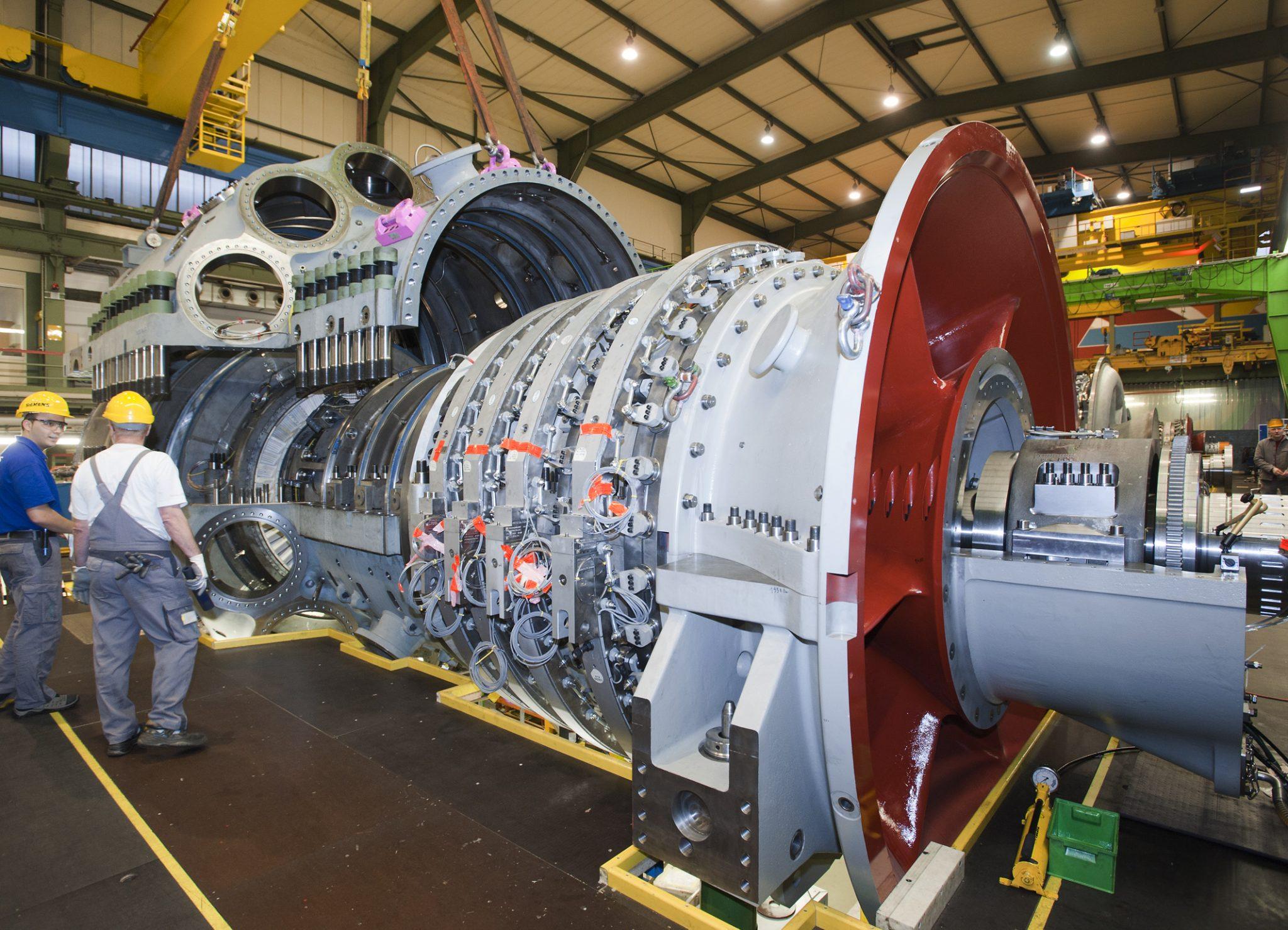 تعویض توربین گاز زیمنس در نیروگاه مک ویلیامز