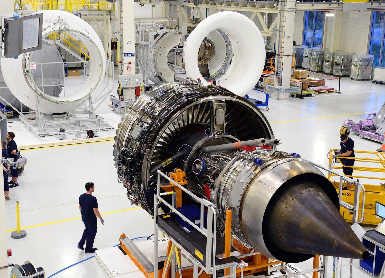 رضایت رولزرویس از تولید موتور ترنت 7000