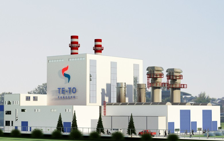 نصب دو واحد توربین گاز آنسالدو در صربستان