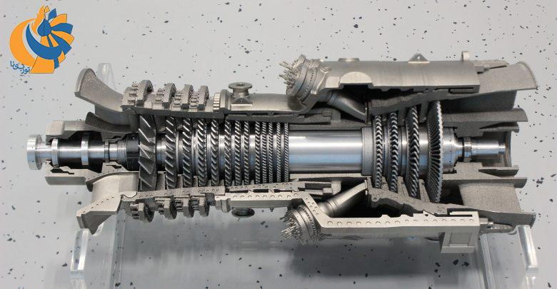 ساخت نمونه مقیاسشده توربین گاز با روش تولید افزایشی و چاپ سهبعدی در موسسه فرانهوفر