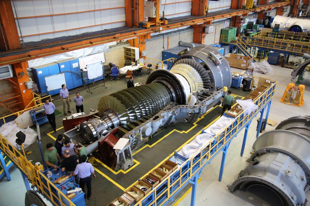 اولین توربین گاز کلاس اف نوع زیمنس در توگا