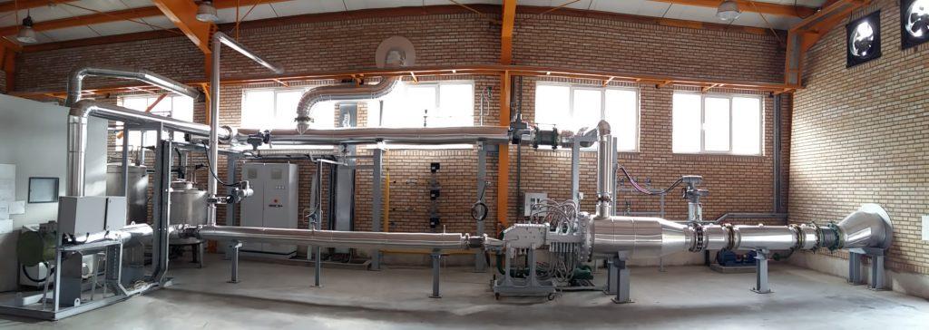 آزمایشگاه احتراق و پاشش سوخت توگا