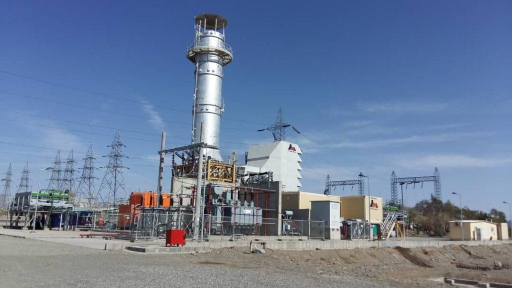 اولین نیروگاه MGT-40 در زاهدان