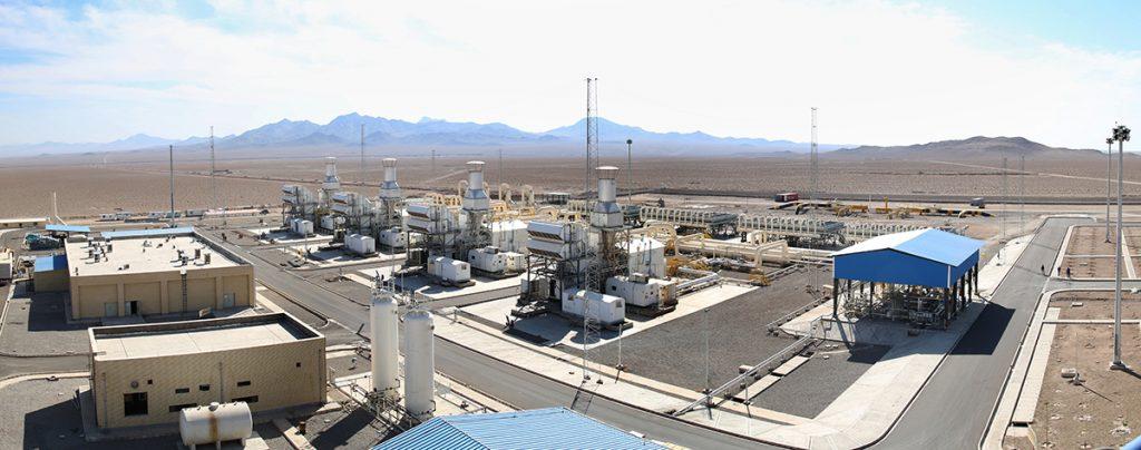 ایستگاه تقویت فشار خط لوله گاز