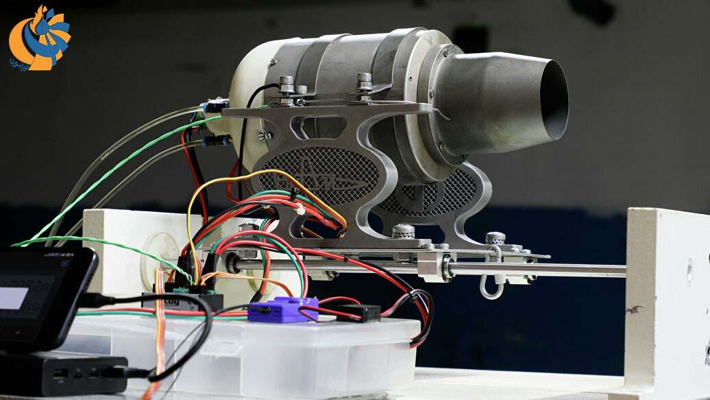 آزمایش توربین گاز هوایی کوچک روسی مبتنی بر چاپ سه بعدی