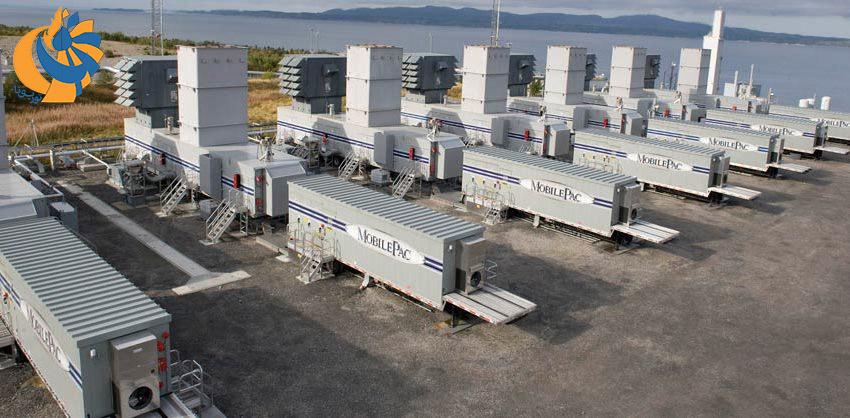 استقرار نیروگاههای موبایل 30 مگاواتی برای حل مشکل تامین برق پورتوریکو