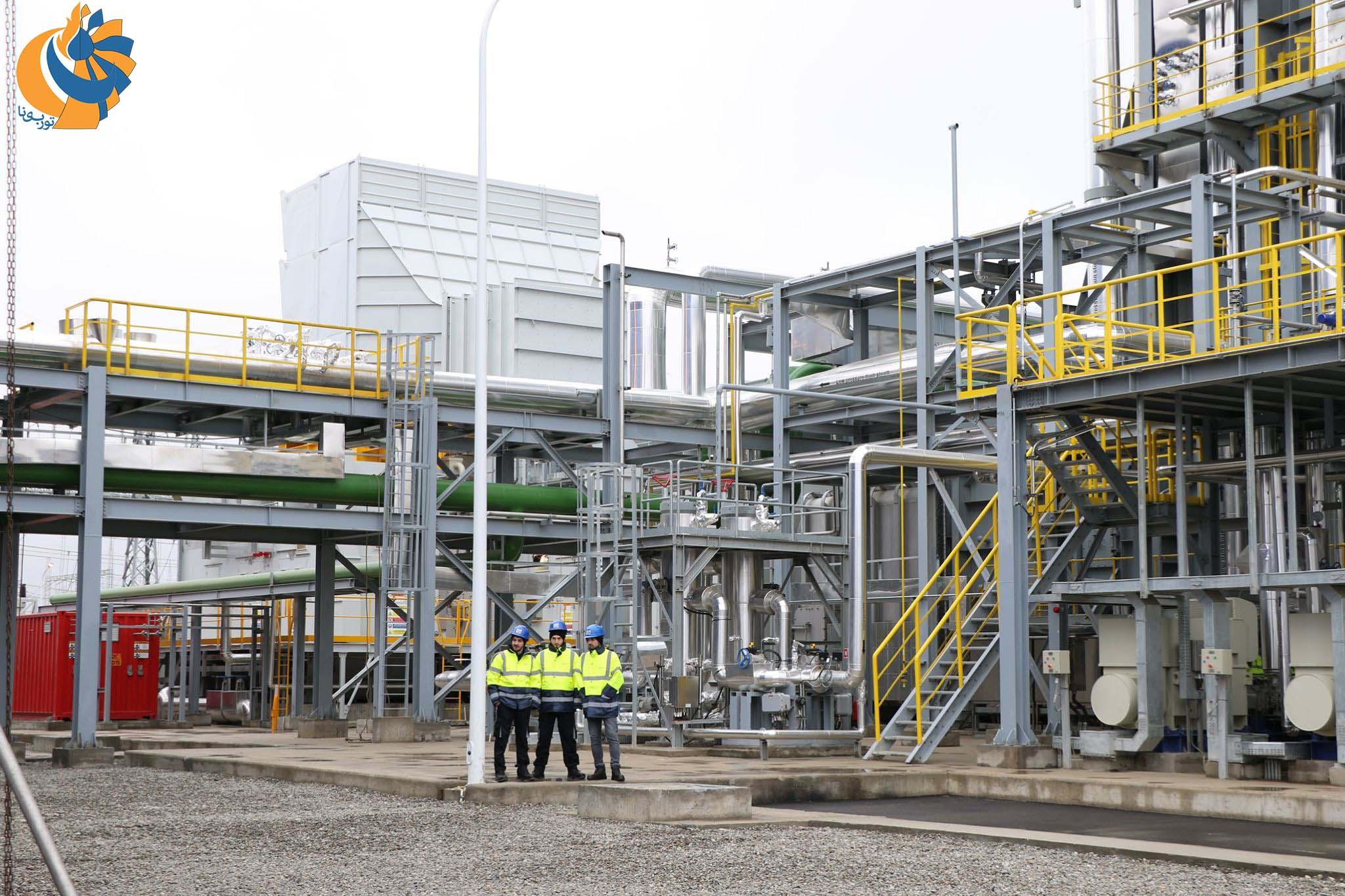 احداث نیروگاه سیکل ترکیبی حرارتی در گرجستان براساس تکنولوژی جنرال الکتریک