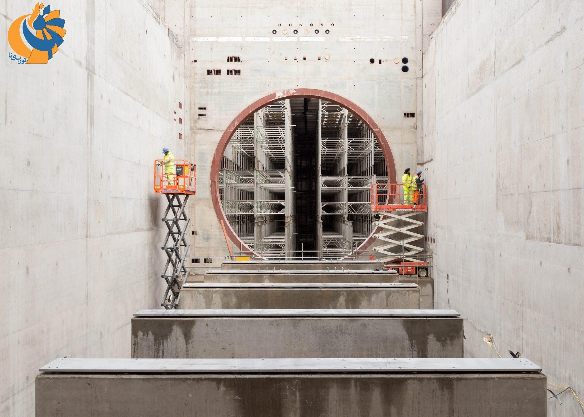 ساخت بزرگترین سلول تست موتورهای هوایی جهان در انگلستان