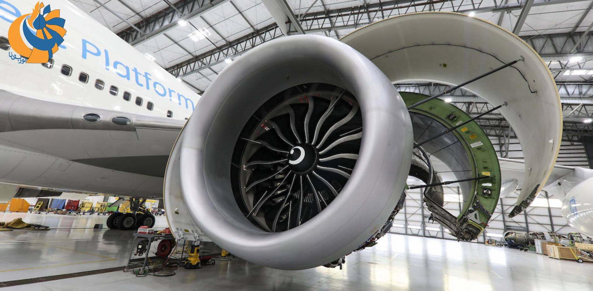 ثبت رکورد قدرتمندترین موتور هوایی جهان [فیلم]