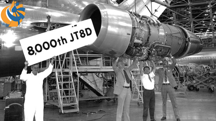 موتور توربوفن JT8D، عصاره نیم قرن تجربه Pratt & Whitney
