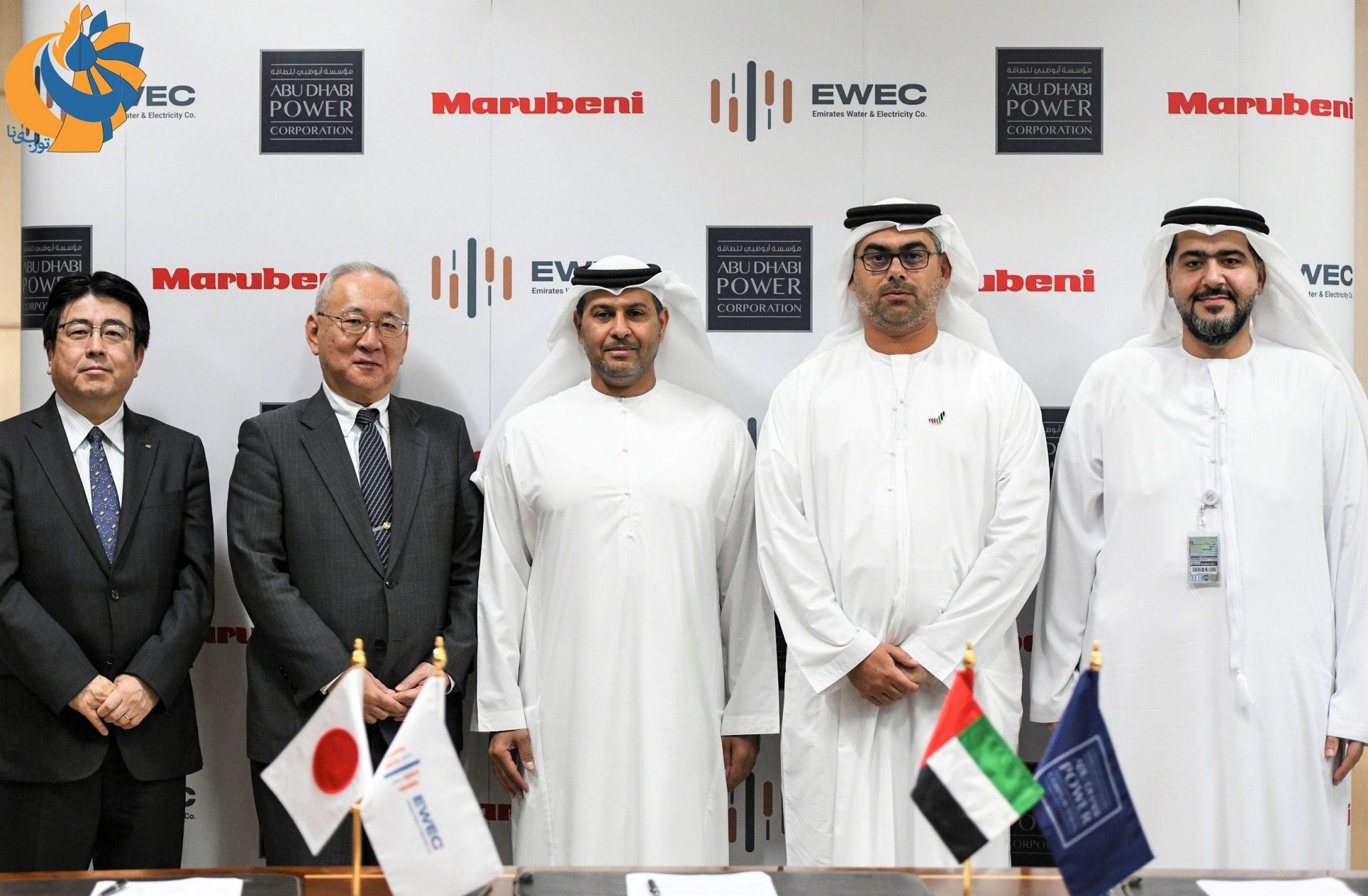 امضاء قرارداد ساخت بزرگترین نیروگاه حرارتی امارات توسط ژاپن