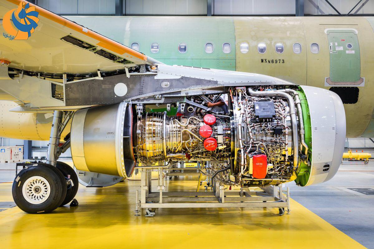 امریه جدید برای موتور V2500