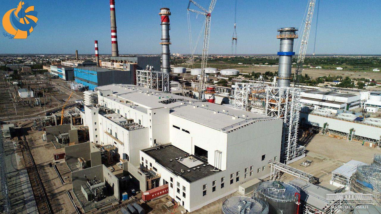 آغاز بهکار نیروگاه سیکل ترکیبی 280 مگاواتی در ازبکستان مجهز به توربین گاز GT13E2، محصول جنرال الکتریک