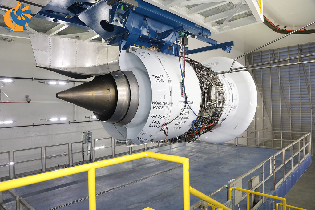 بزرگترین سلول تست موتورهای هوایی عملیاتی جهان [فیلم]