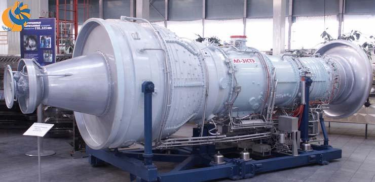حمایت گازپروم از عرضه توربین جدید مشتق از موتور هوایی AL-31