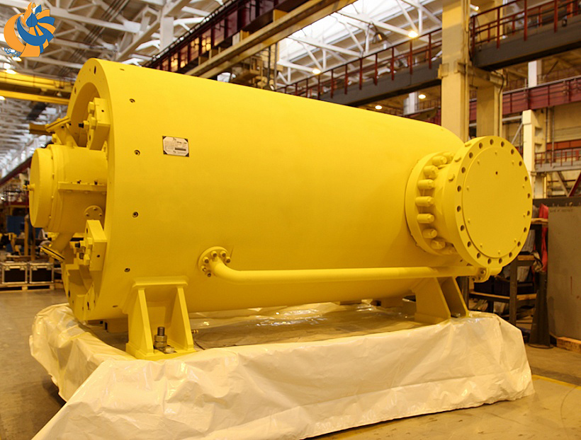 نصب کمپرسورهای ساخت هلدینگ REP در ایستگاههای انتقال گاز