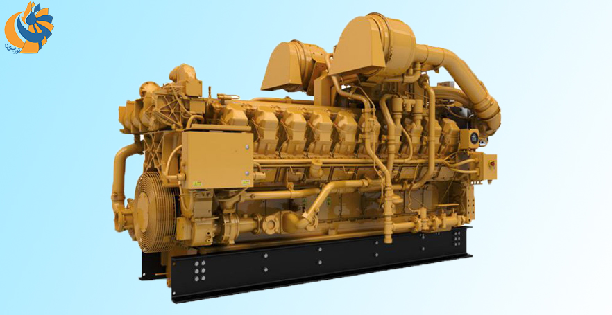 معرفی اولین موتور گازسوز کاترپیلار تولید شده در چین