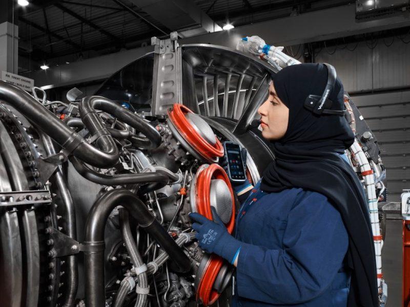 توافق یک میلیارد درهمی ساناد برای تعمیر و نگهداری موتورهای هوایی در ابوظبی