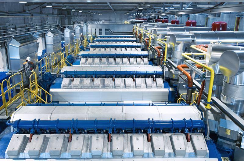 تجهیزات وارتسیلا برای نیروگاه 128 مگاواتی اندونزی