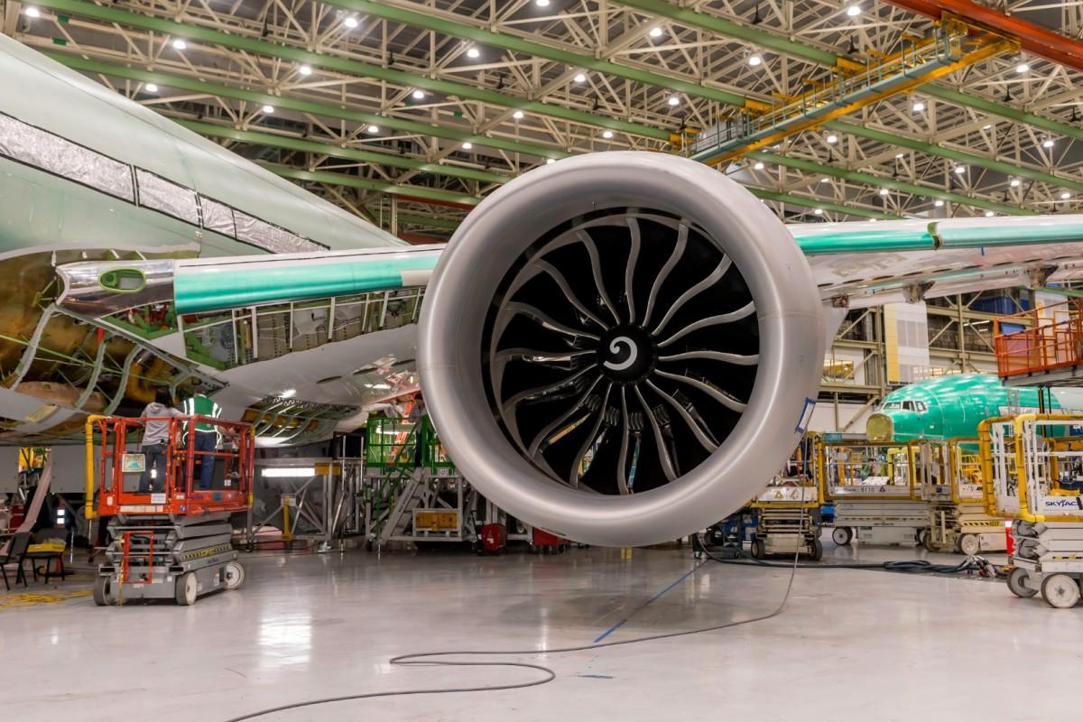 تایید صلاحیت پروازی موتور توربوفن پرقدرت GE9X