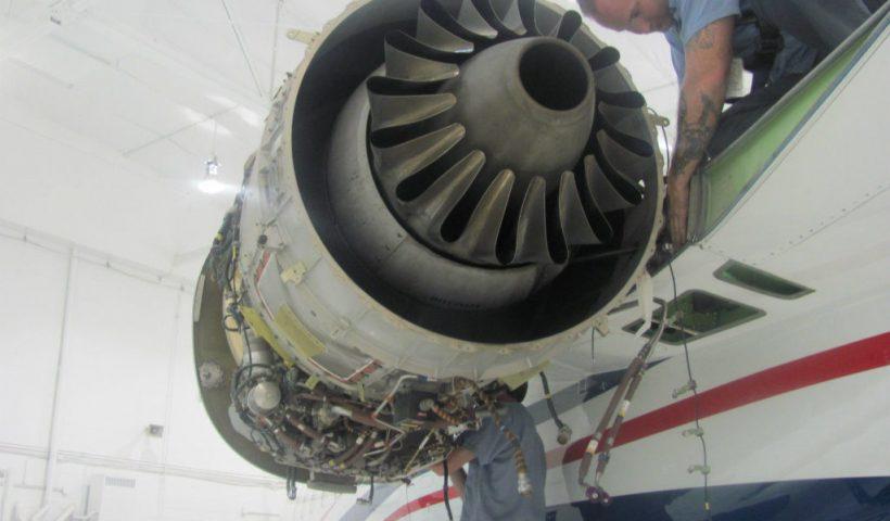 بازسازی موتور توربوفن