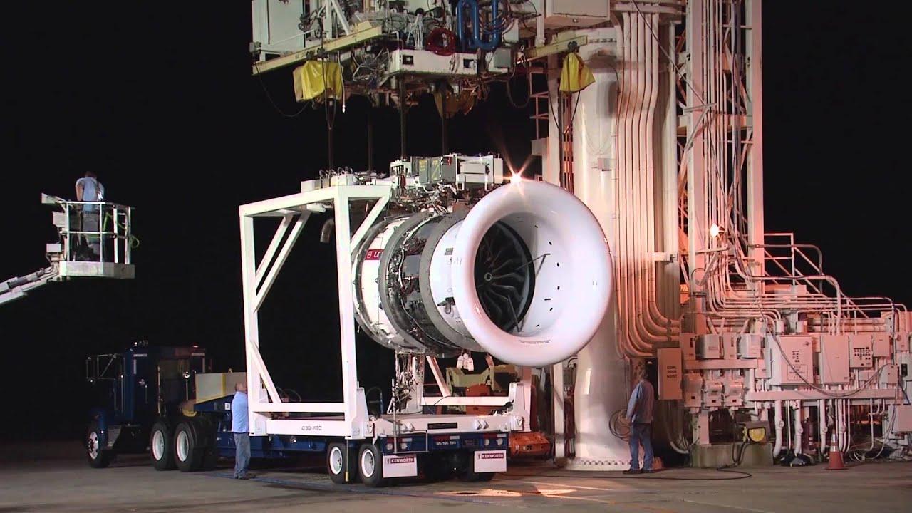 اولین آزمایش گرم موتور توربوفن لیپ-1ای [فیلم]