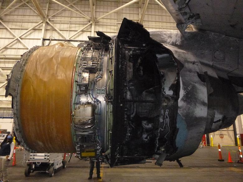 یافتههای جدید از نقص فنی موتور PW4000 در حادثه پرواز یونایتد ایرلاینز