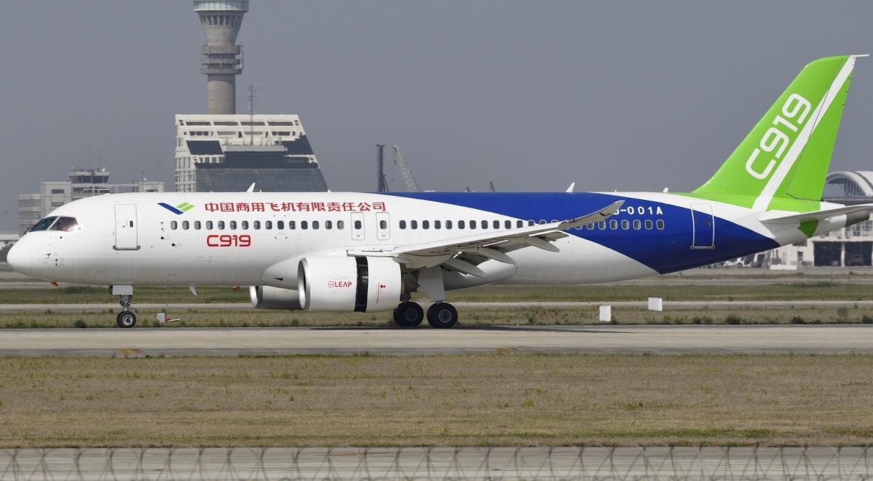 تاکید چین بر ساخت موتور توربوفن بومی برای جت مسافربری سی919