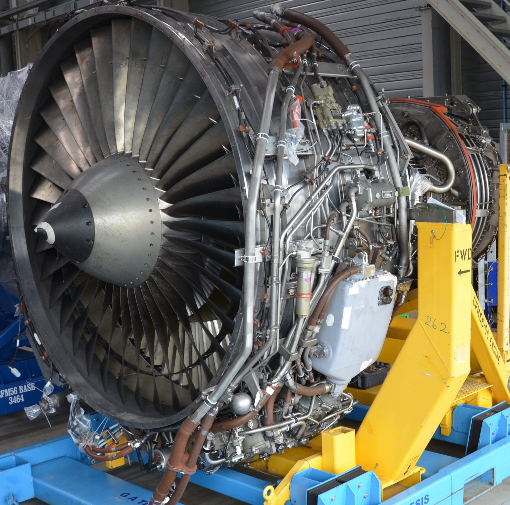 مقایسه موتور CFM56-5C با چند موتور منتخب [فیلم]
