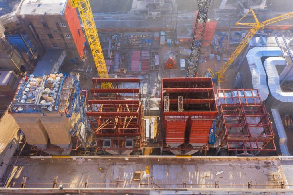 تعویض دو واحد بویلر در نیروگاه کراسنویارسک