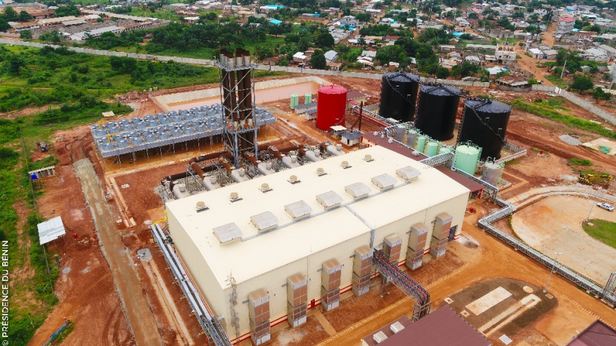 افزایش ظرفیت تولید برق نیروگاهی بنین